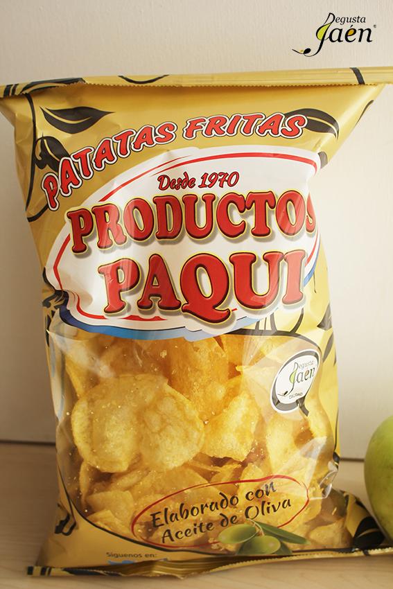 Trufas crujientes morcilla y patatas fritas Degusta Jaen (1)