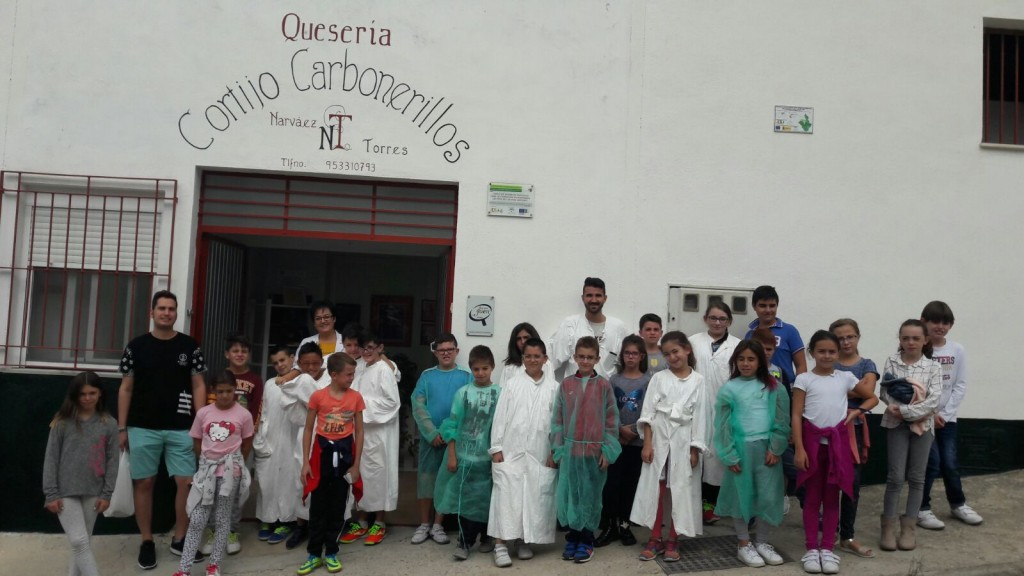 Degusta Jaén en tu Colegio. CEIP San Juan de Valdepeñas de Jaén