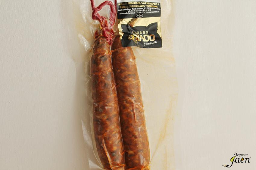 Chorizo de ciervo Carnes Criado Degusta Jaen (2)