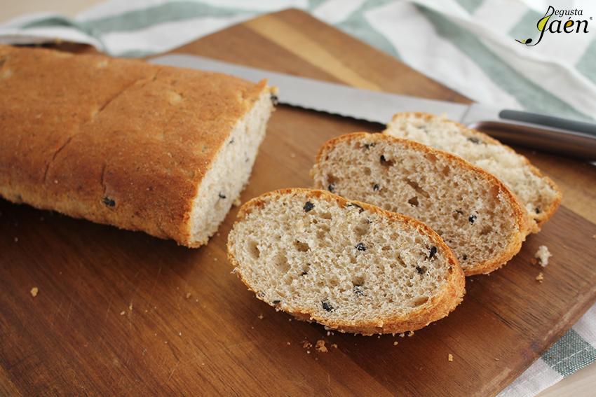 Pan de aceitunas Degusta Jaen