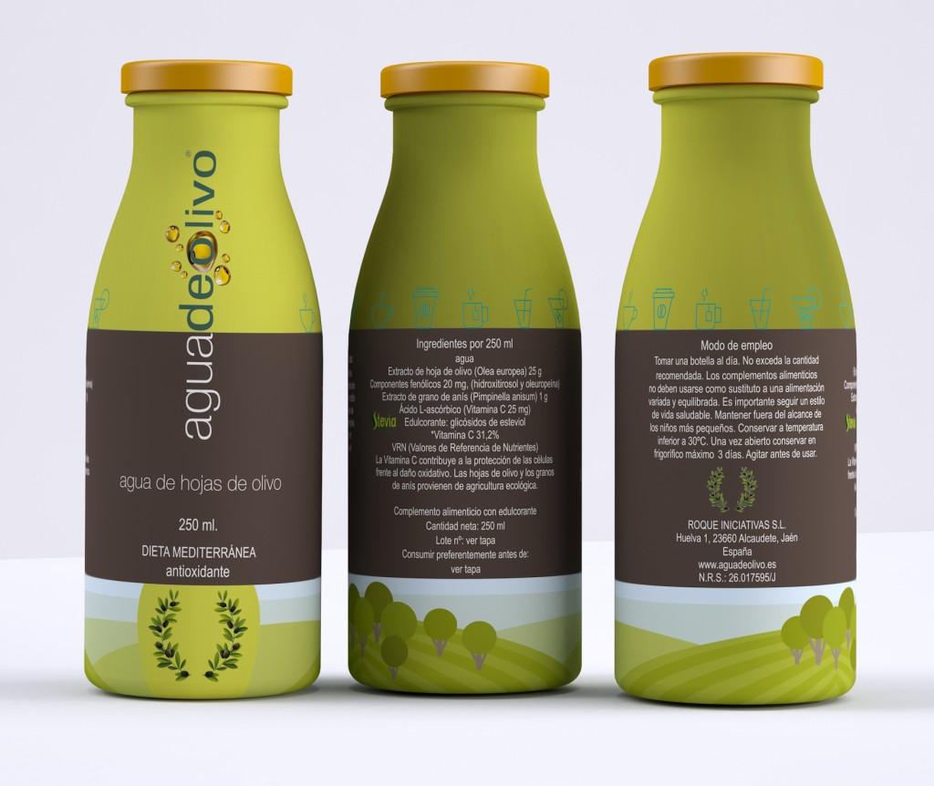 Agua de olivo Degusta Jaen