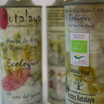 Picual ecologico, Aceites Rotalaya