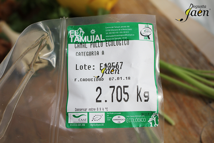 Pollo Tamujal Degusta Jaen