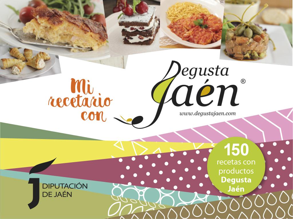 """""""Mi recetario con Degusta Jaén"""""""