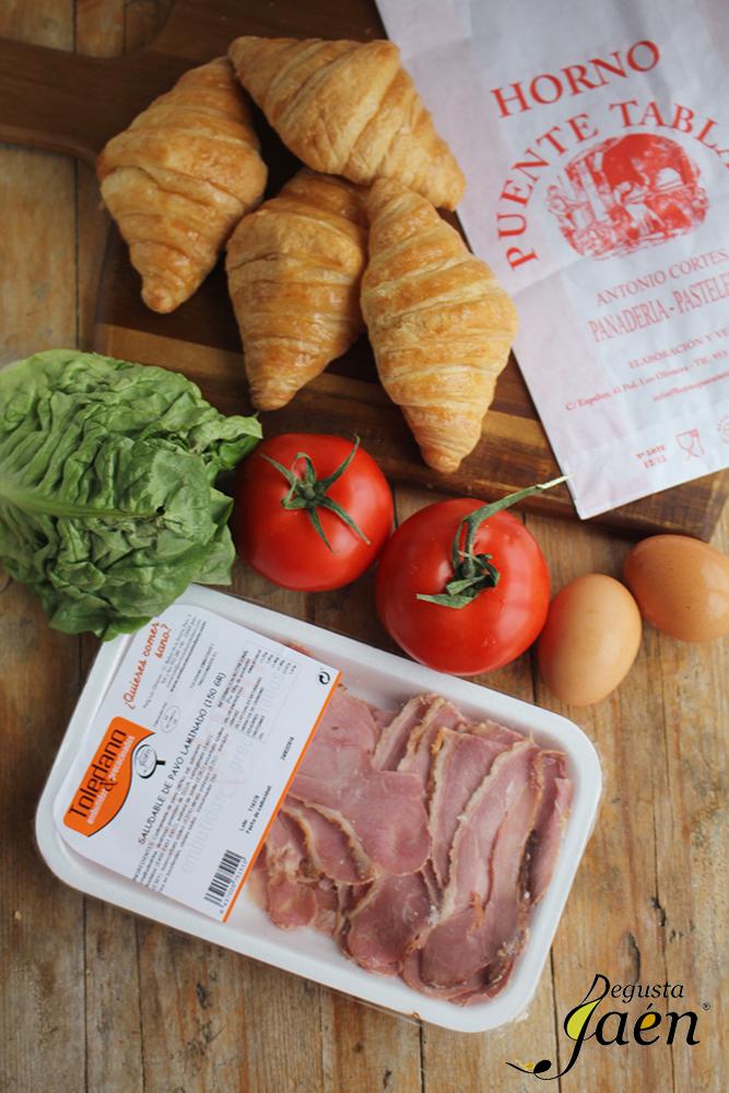 Croisant salados Degusta Jaen ingredientes