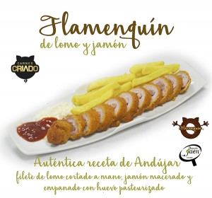 flamenquin lomo jamon autentica Degusta Jaen