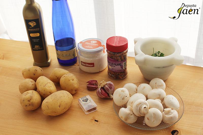 Patatas baezanas Degusta Jaen Ingredientes