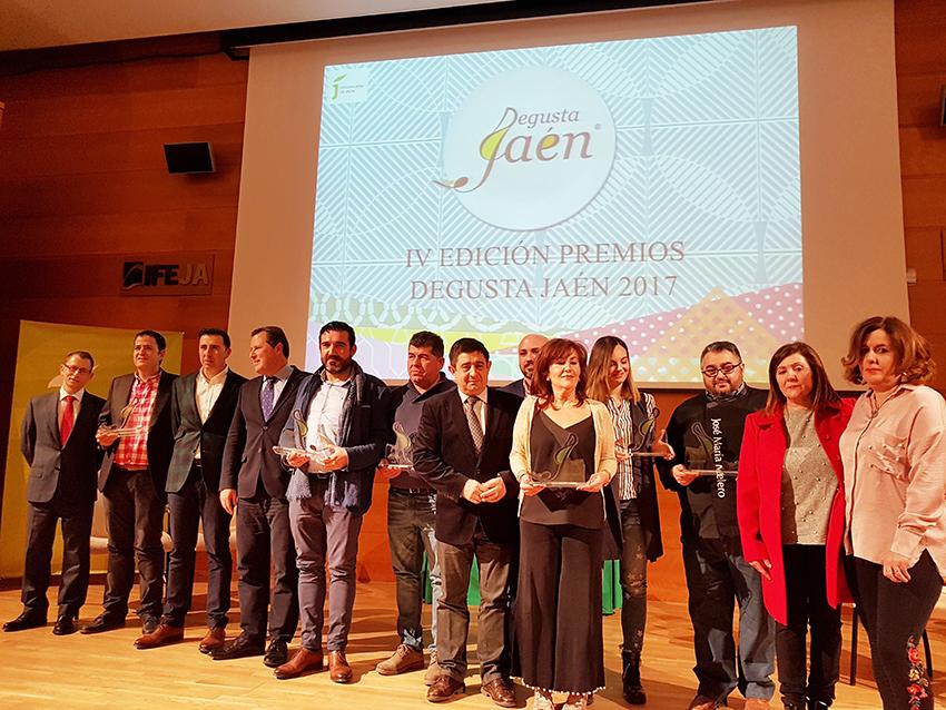Premiados Degusta Jaen 2017