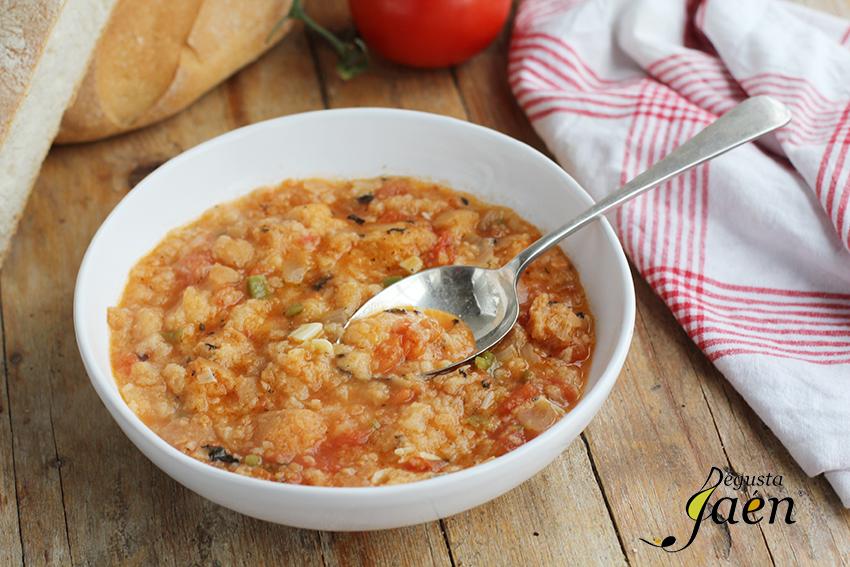 Sopa de pan con tomate Degusta Jaén (1)