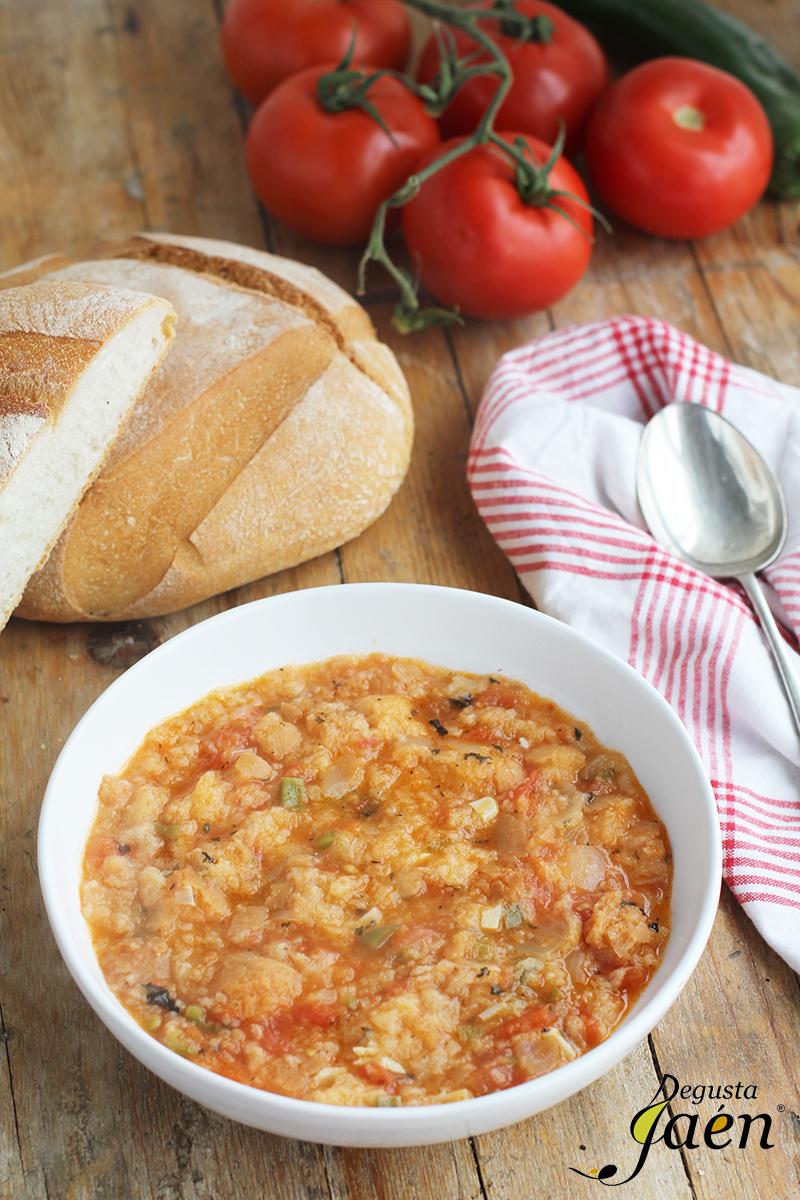 Sopa de pan con tomate Degusta Jaén (2)