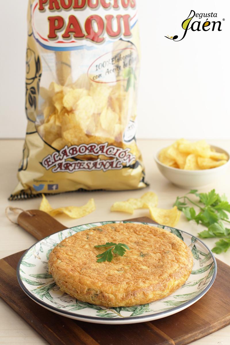 Tortilla de patatas y bacalao Degusta Jaen (2)