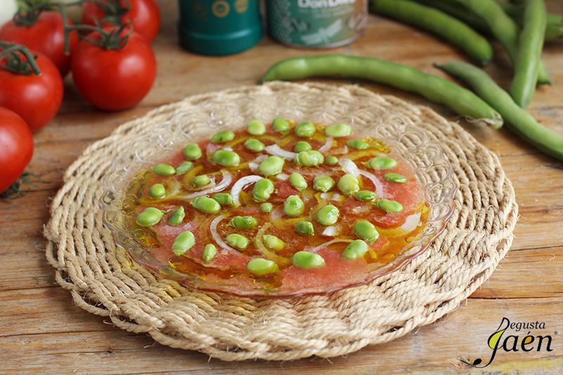 Ensalada de habas tiernas Degusta Jaen (1)