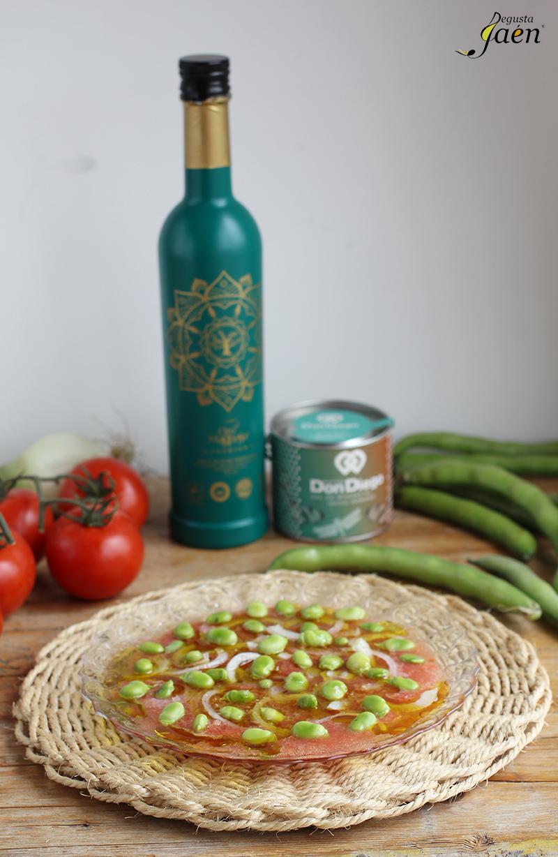 Ensalada de habas tiernas Degusta Jaen (2)