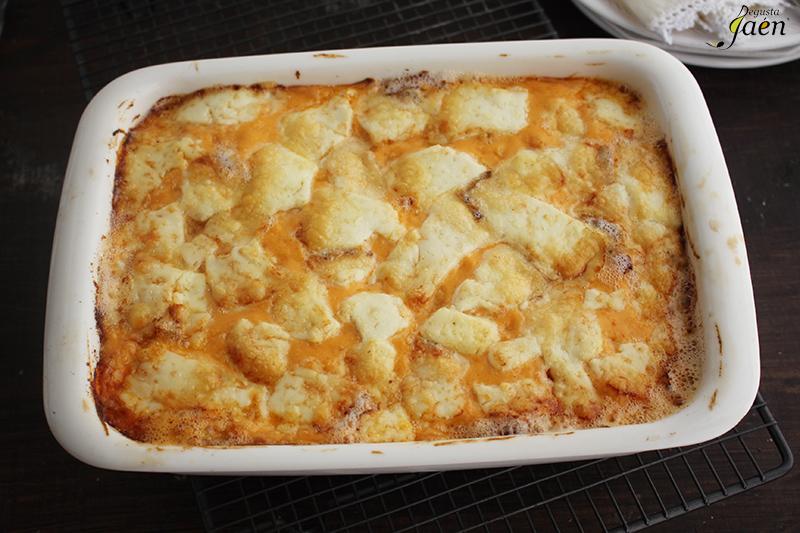 Pastel de pollo, aceitunas y patatas de bolsa Degusta Jaen