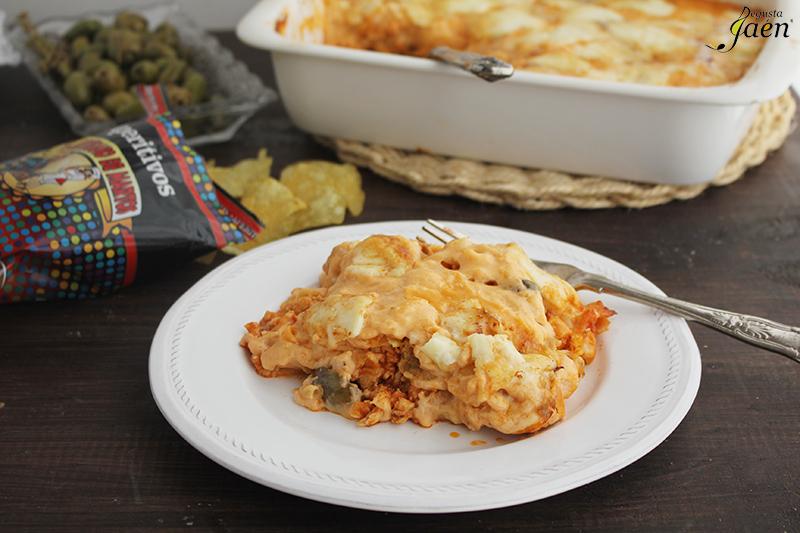 Pastel de pollo y patatas de bolsa Degusta Jaen (1)