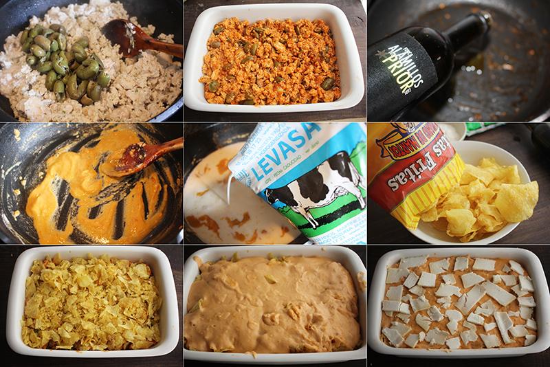 Pastel de pollo y patatas de bolsa Degusta Jaen Pasos
