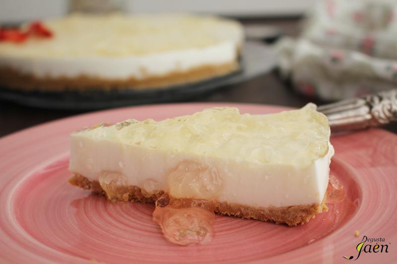 Tarta de yogur y mermelada de cava Degusta Jaen (1)