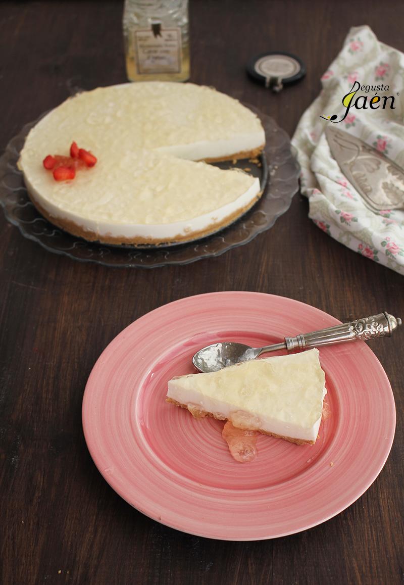Tarta de yogur y mermelada de cava Degusta Jaen (2)