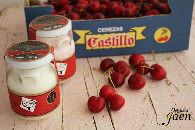 Bizcocho cerezas Degusta Jaen Ingredientes
