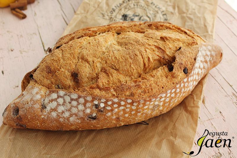Pan de naranja y chocolate Degusta Jaen (2)