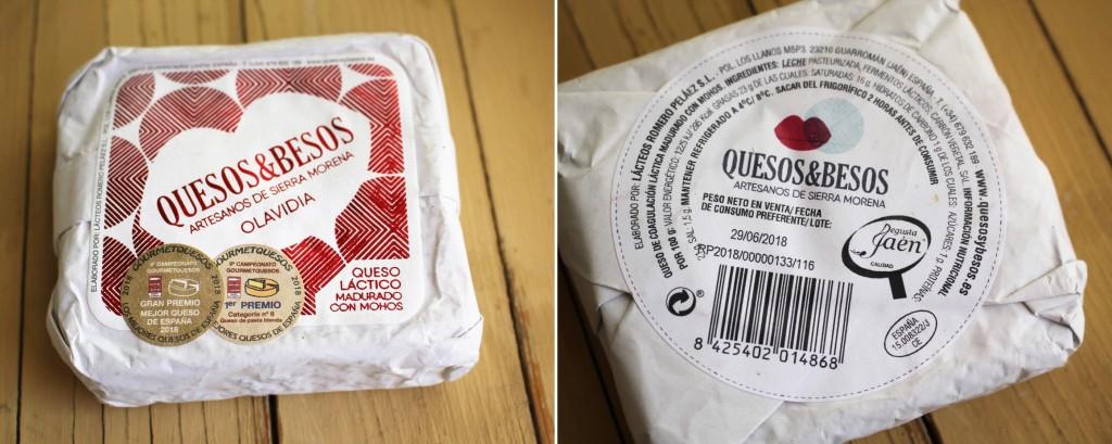 Queso Olavidia Quesos y Besos Degusta Jaen