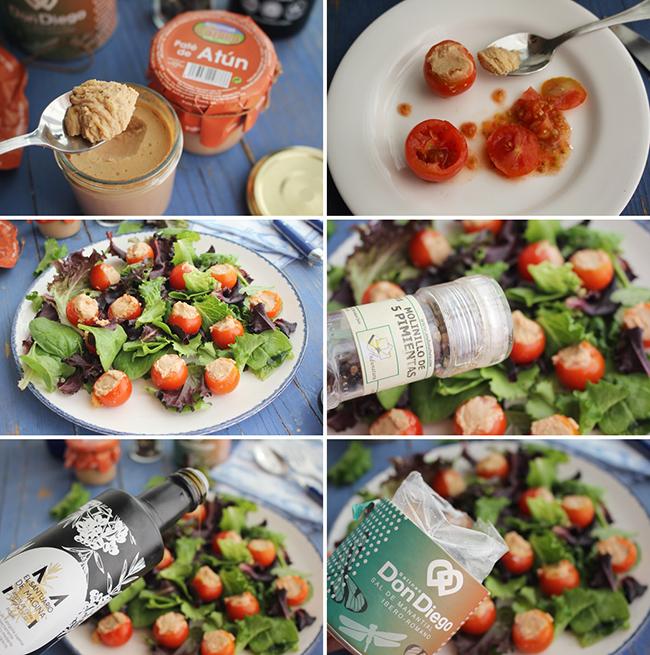 Ensalada de tomate y pate de atun Degusta Jaenjpg