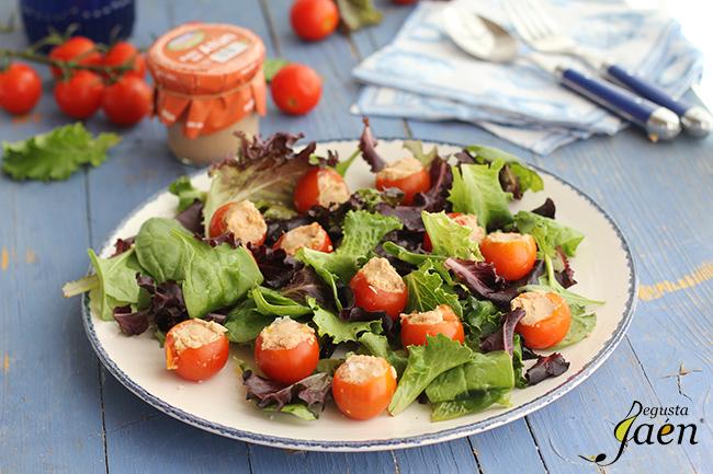 Ensalada tomate y pate de atun Degusta Jaen (1)
