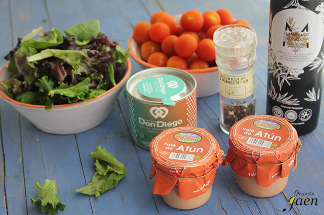 Ensalada tomate y pate de atun Degusta Jaen (2)