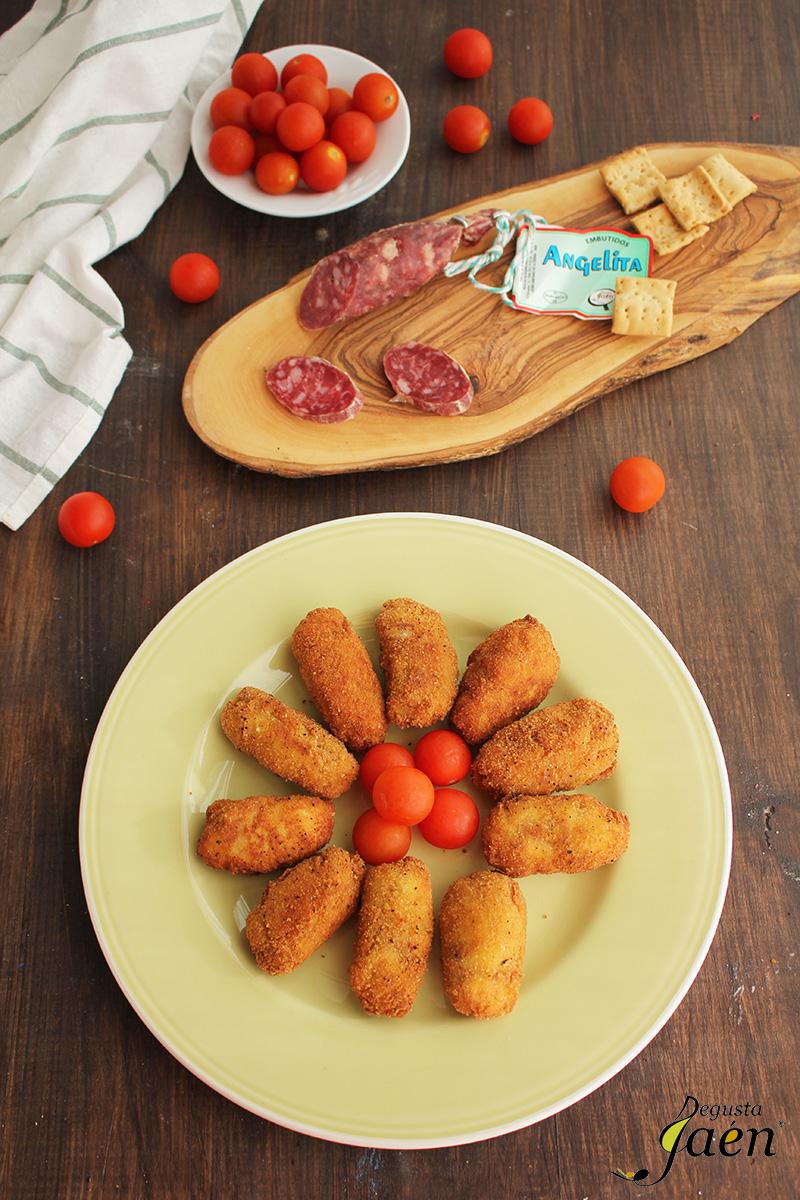 Croquetas de salchichon Degusta Jaen (1)