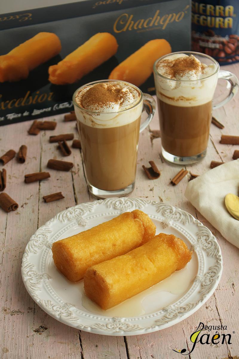 Cafe con canela y chachepo Degusta Jaen