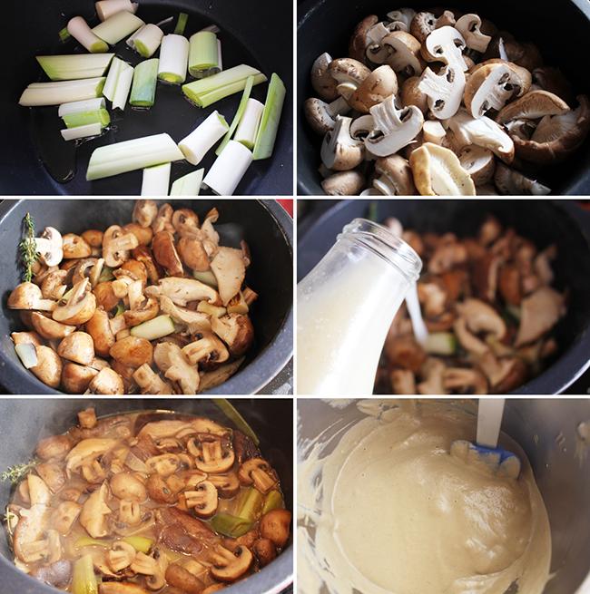 Crema de setas y champiñones Degusta Jaen pasos (1)