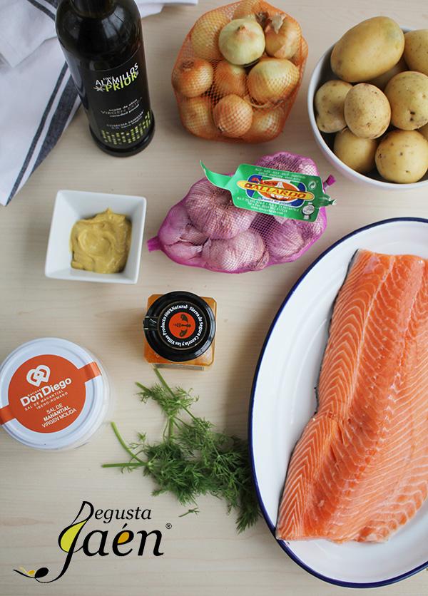 Salmon miel Degusta Jaen