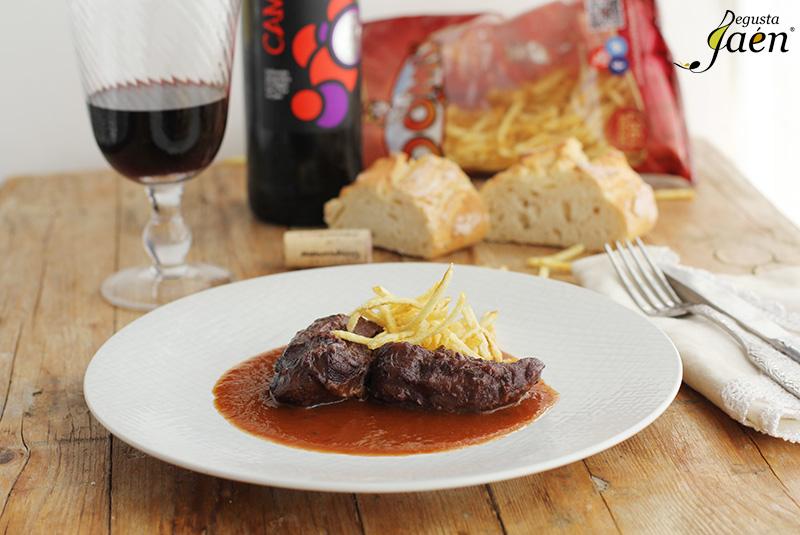 Carrilleras al vino tinto Degusta Jaen (1)