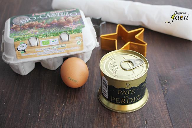 Estrellas pate Degusta Jaen Ingredientes