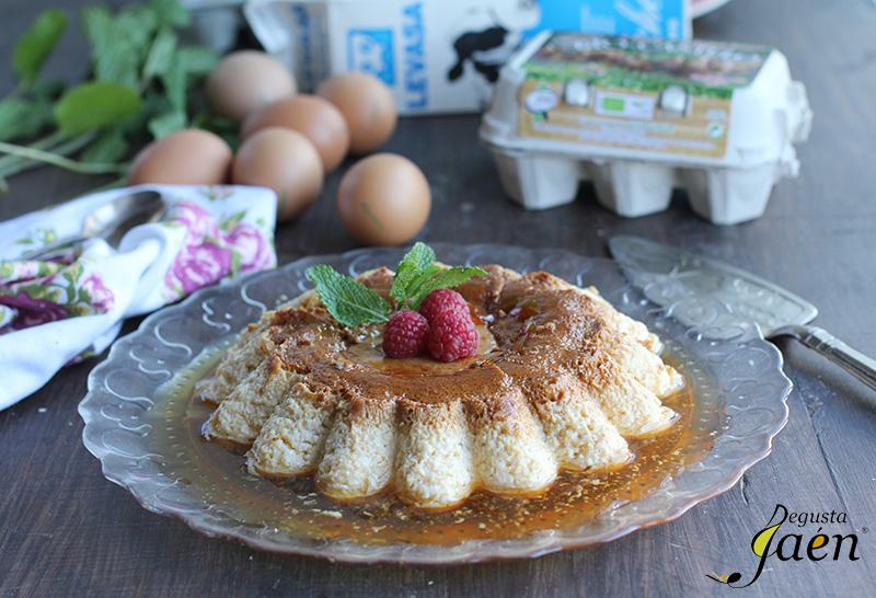 Flan de huevo BioCastulo Degusta Jaen