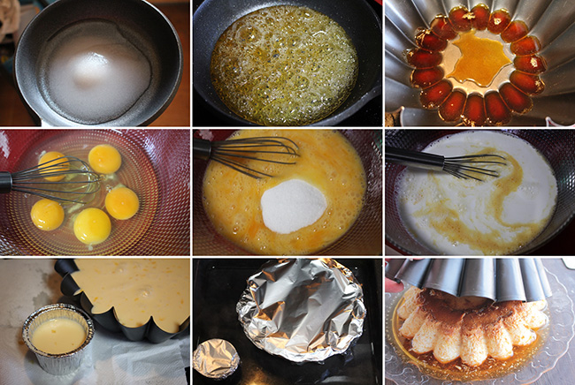 Flan de huevo Degusta Jaen pasos1