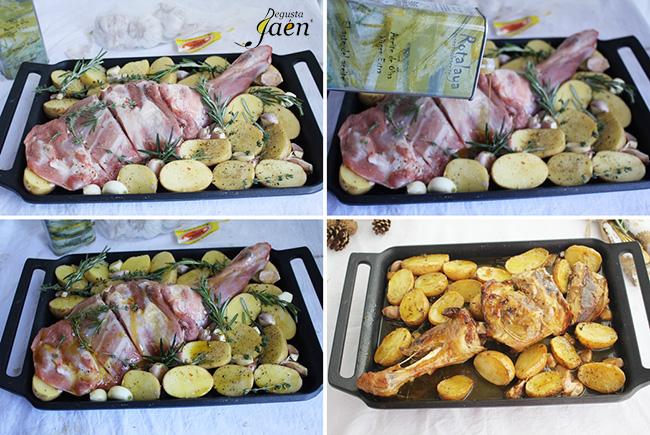 Como hacer cordero segureño horno Degusta Jaen