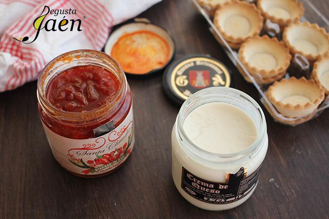 Crema de queso y pimiento caramelizado Degusta Jaen