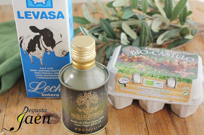 Helado aceite Degusta Jaen Ingredientes (2)