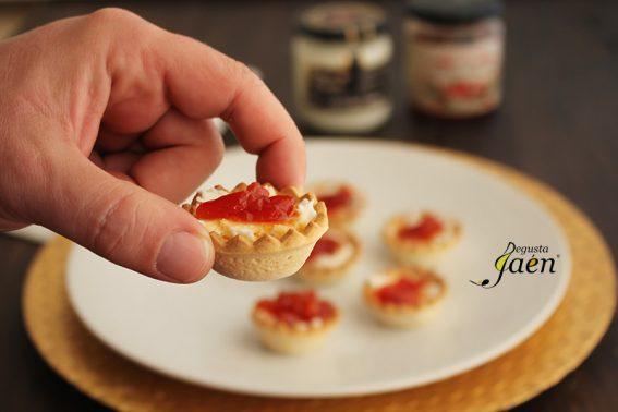 tartaletas-crema-queso-y-pimiento-caramelizado-degusta-jaen-2