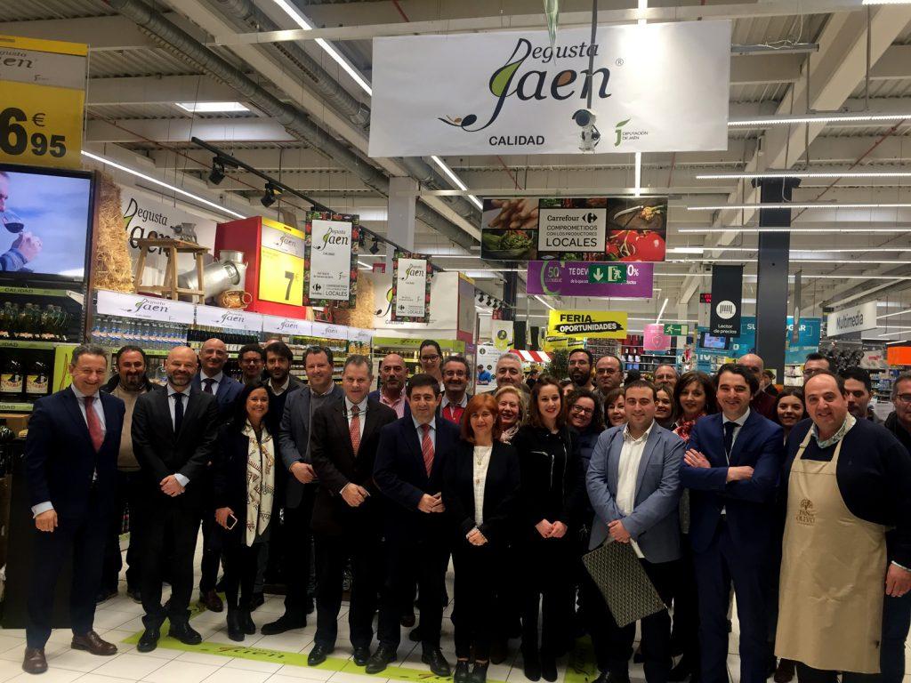 Degusta Jaén en Carrefour Ubeda