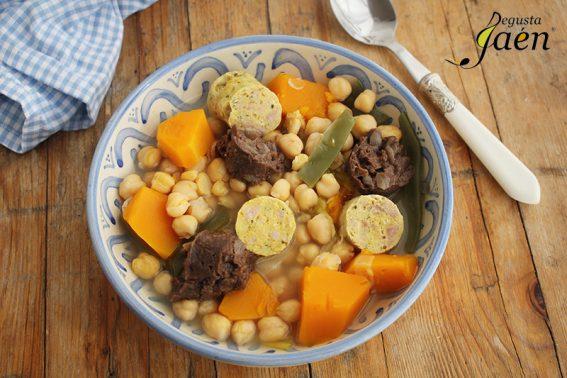 Cocido con relleno de carnaval y morcilla Degusta Jaen (2)