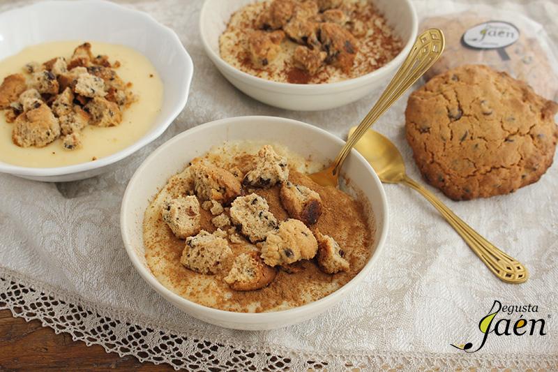Natillas con galletas de chocolate Degusta Jaén (1)