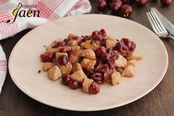Pollo con cerezas Degusta Jaen (1)