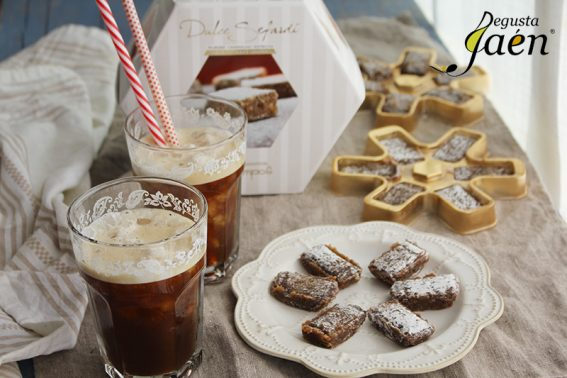 Dulces sefardies Cafe frio Degusta Jaen