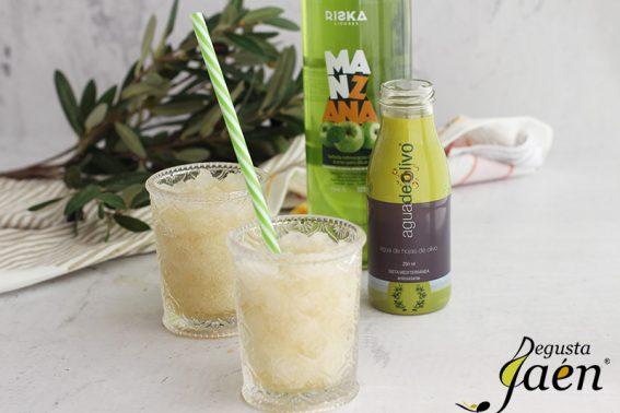 Granizado de agua de olivo y manzana Degusta Jaen (1)