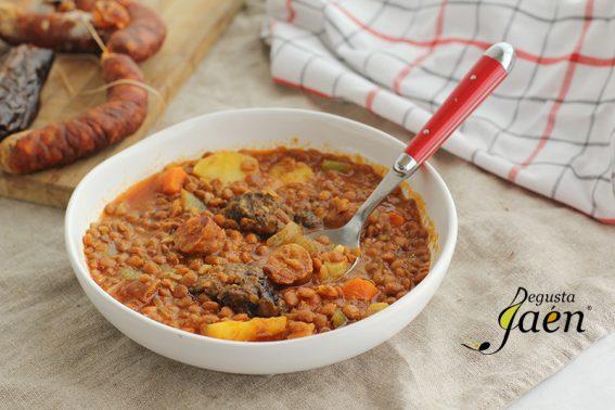 Lentejas con chorizo y morcilla Degusta Jaén (3)