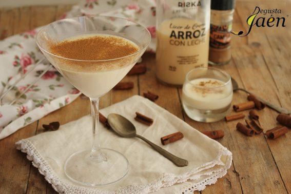 Pannacotta de licor de crema de arroz con leche Riska Degusta Jaén (1)