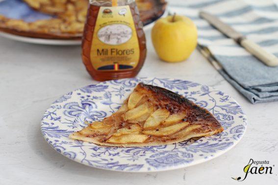 Tarta rapida de manzana y miel Degusta Jaen (2)