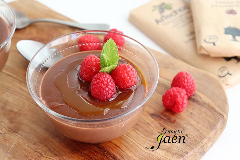 natillas de chocolate y aove